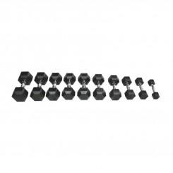 Шестоаголни гумени тегови (2x50g)