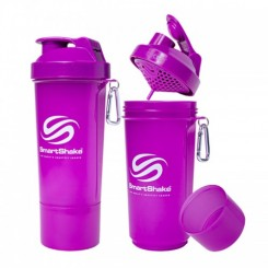 SmartShake Slim neon purple, 400 ml