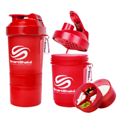 SmartShake neon red, 400 ml