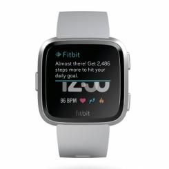 Fitbit Versa, Gray/Silver Aluminum